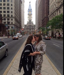 Susan King and Barbara Hall get married